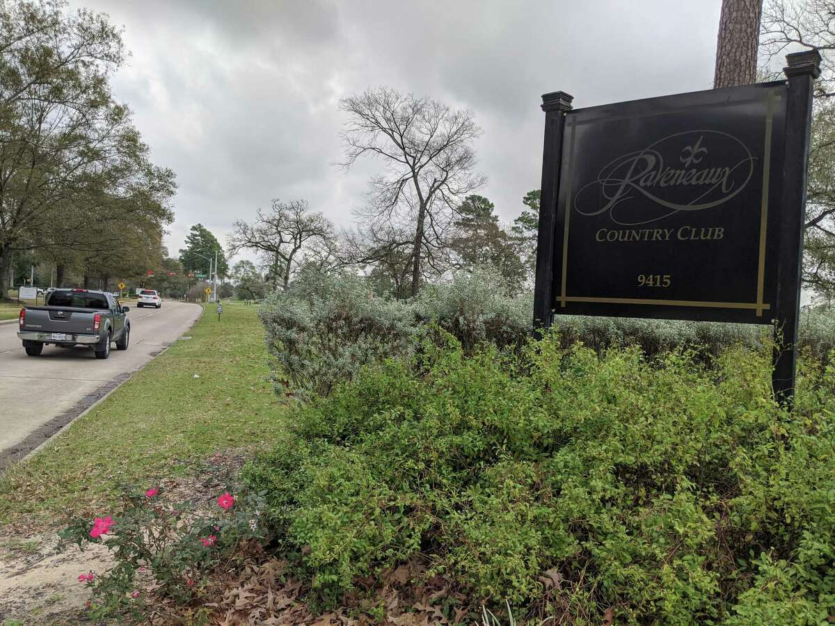 Raveneaux Country Club, 4915 Cypresswood Drive. Harris County is currently negotiating to acquire the property to turn it into a detention basin to help mitigate flooding in the area.