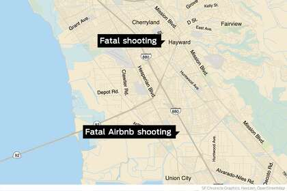 Two fatal shootings in 24 hours in Hayward — including one at an Airbnb party