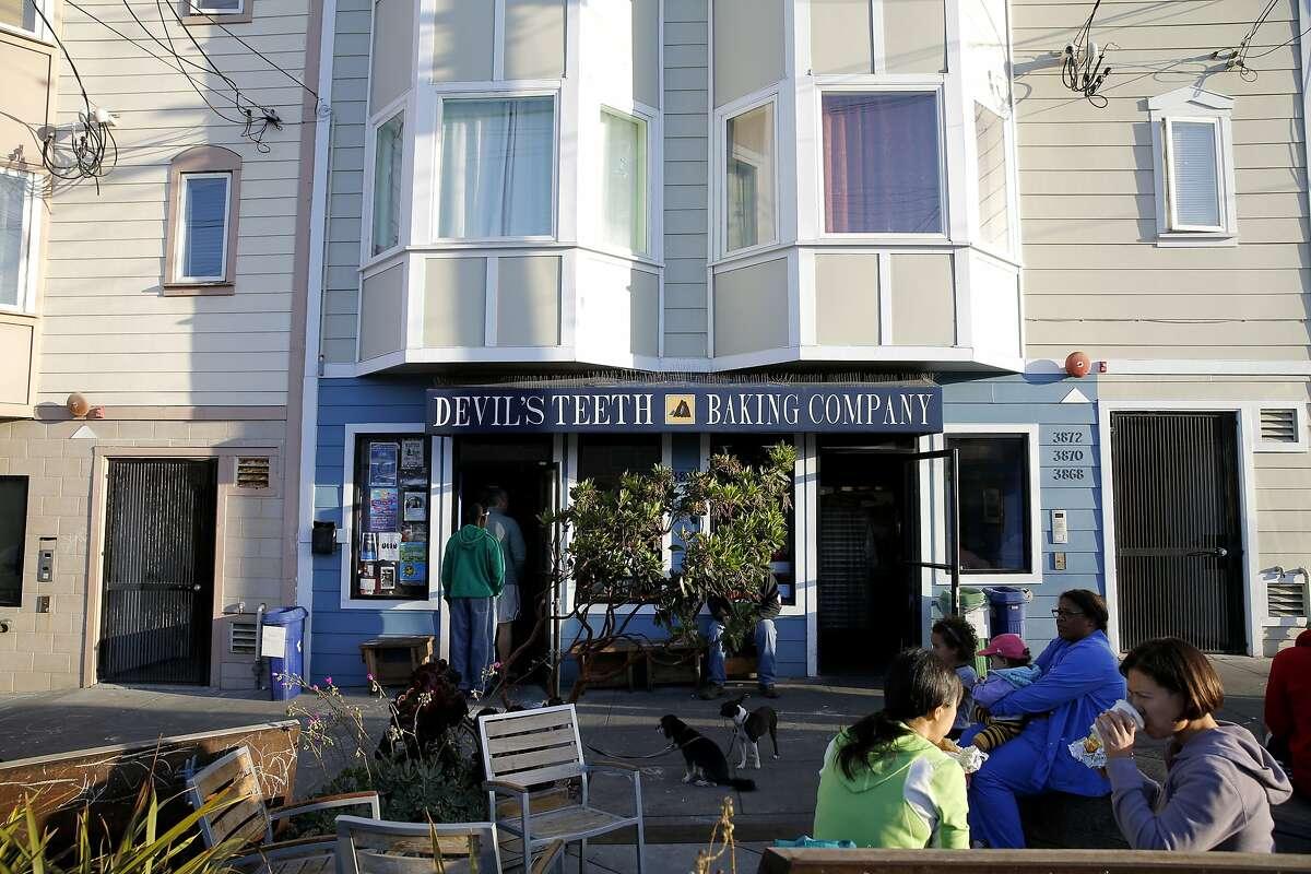 Devil's Teeth Baking Company in San Francisco, California, on Sunday, Oct. 4, 2015.