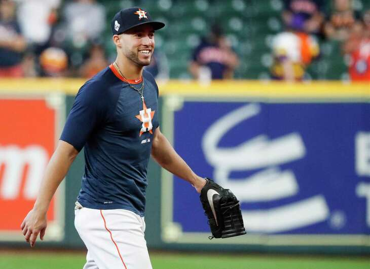 George Springer is coming off a season in which he produced 39 home runs and a .974 OPS, both career bests.