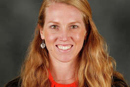 Pictured is Alyssa Nakken, named by San Francisco Giants field manager Gabe Kapler to join his Major League coaching staff on Thursday, Jan. 16, 2020.