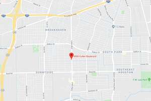 A woman was shot and killed Thursday behind a corner store in the 8900 block of Cullen, police said.