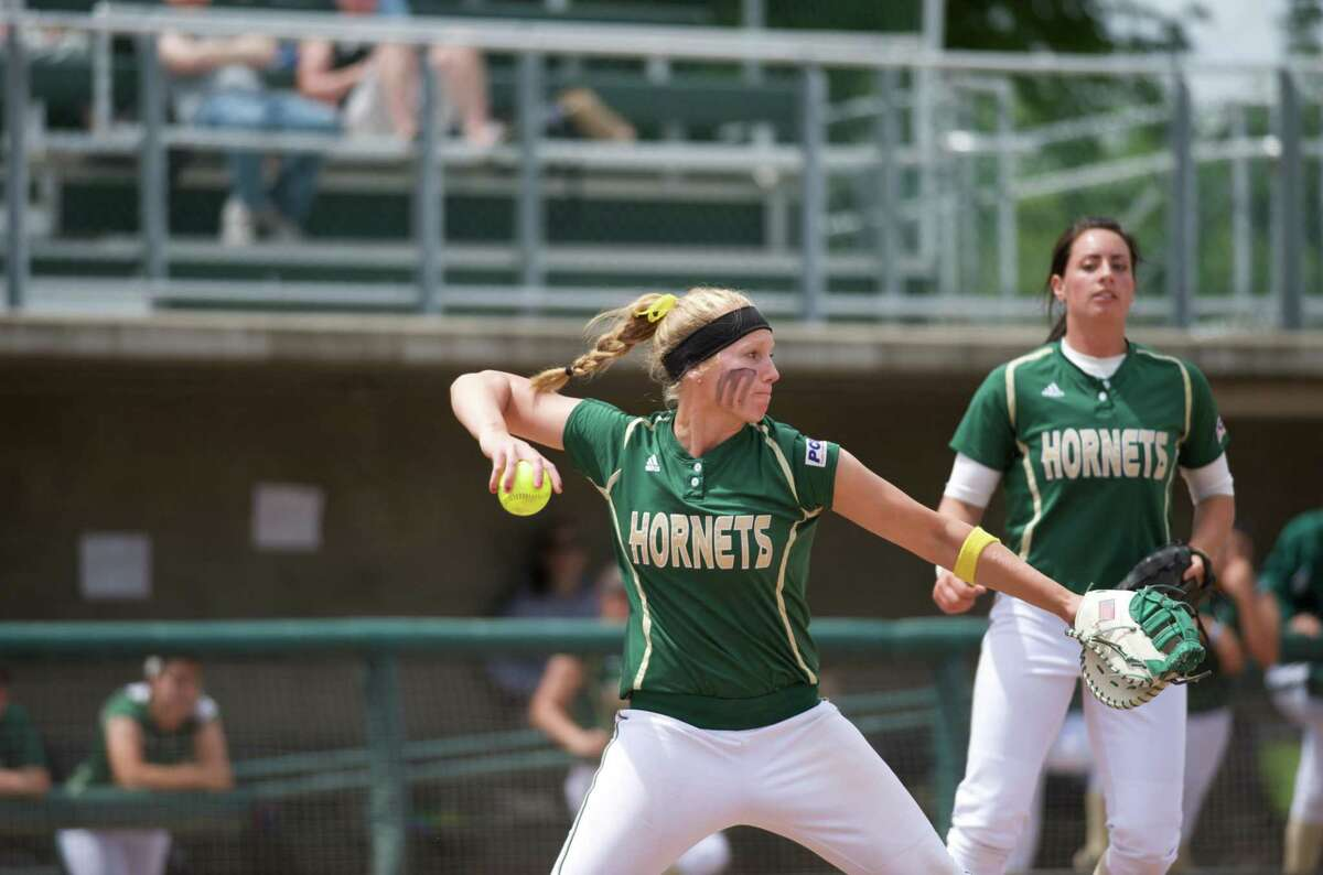 Alyssa Nakken (left) was a four-time Academic All-American softball player at Sacramento State and has been a chairperson for the Giants' Employee Resource Group, which promotes diversity and equity within the organization.