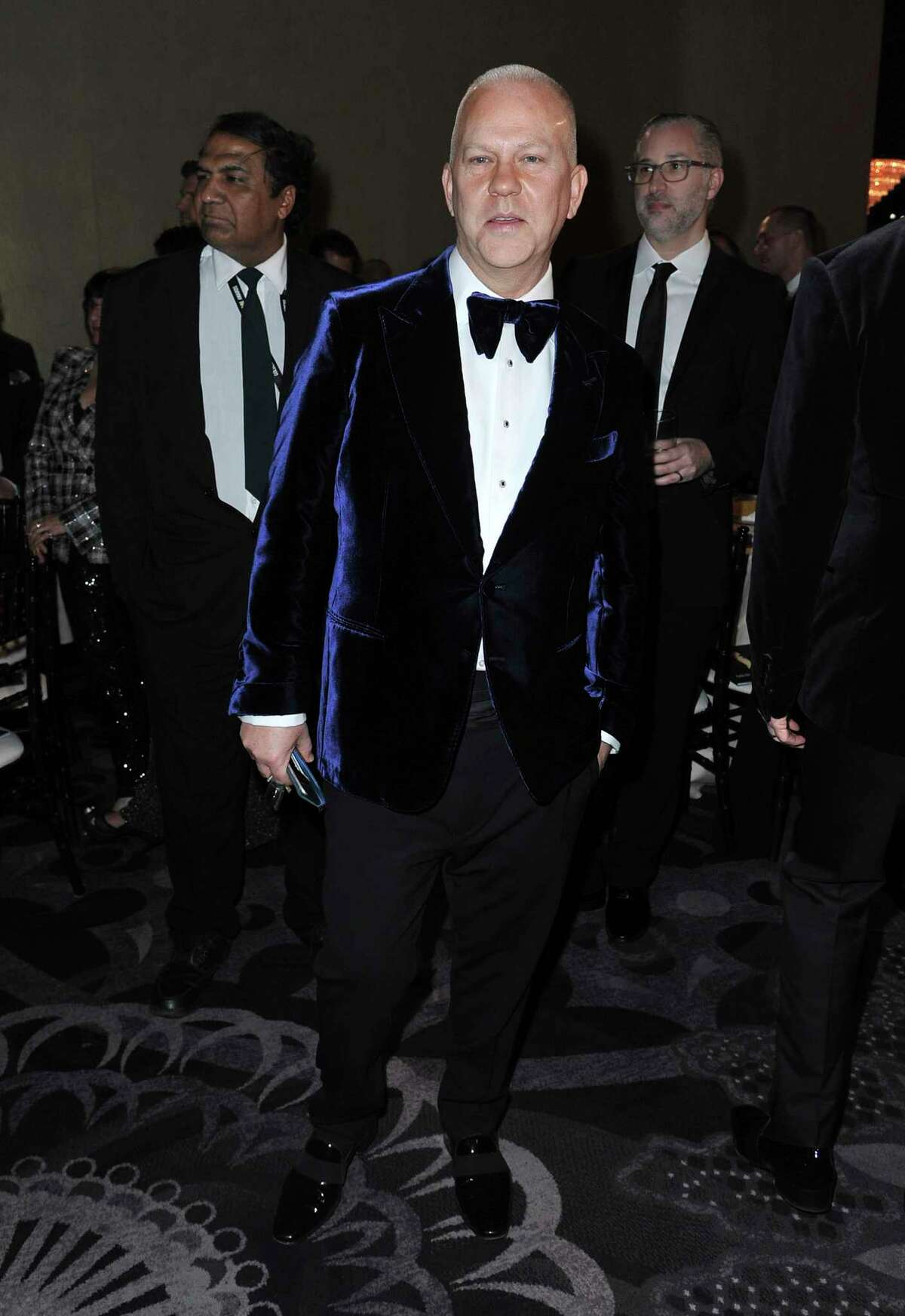 Ryan Murphy attends the 77th annual Golden Globe Awards at the Beverly Hilton Hotel on Sunday, Jan. 5, 2020, in Beverly Hills, Calif. (Richard Shotwell/Invision/AP)