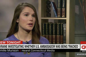 Hearst Connecticut Media reporter Emilie Munson, who first broke the story about Connecticut congressional candidate Robert Hyde's ties to President Donald Trump, appeared on CNN's The Situation Room Thursday.