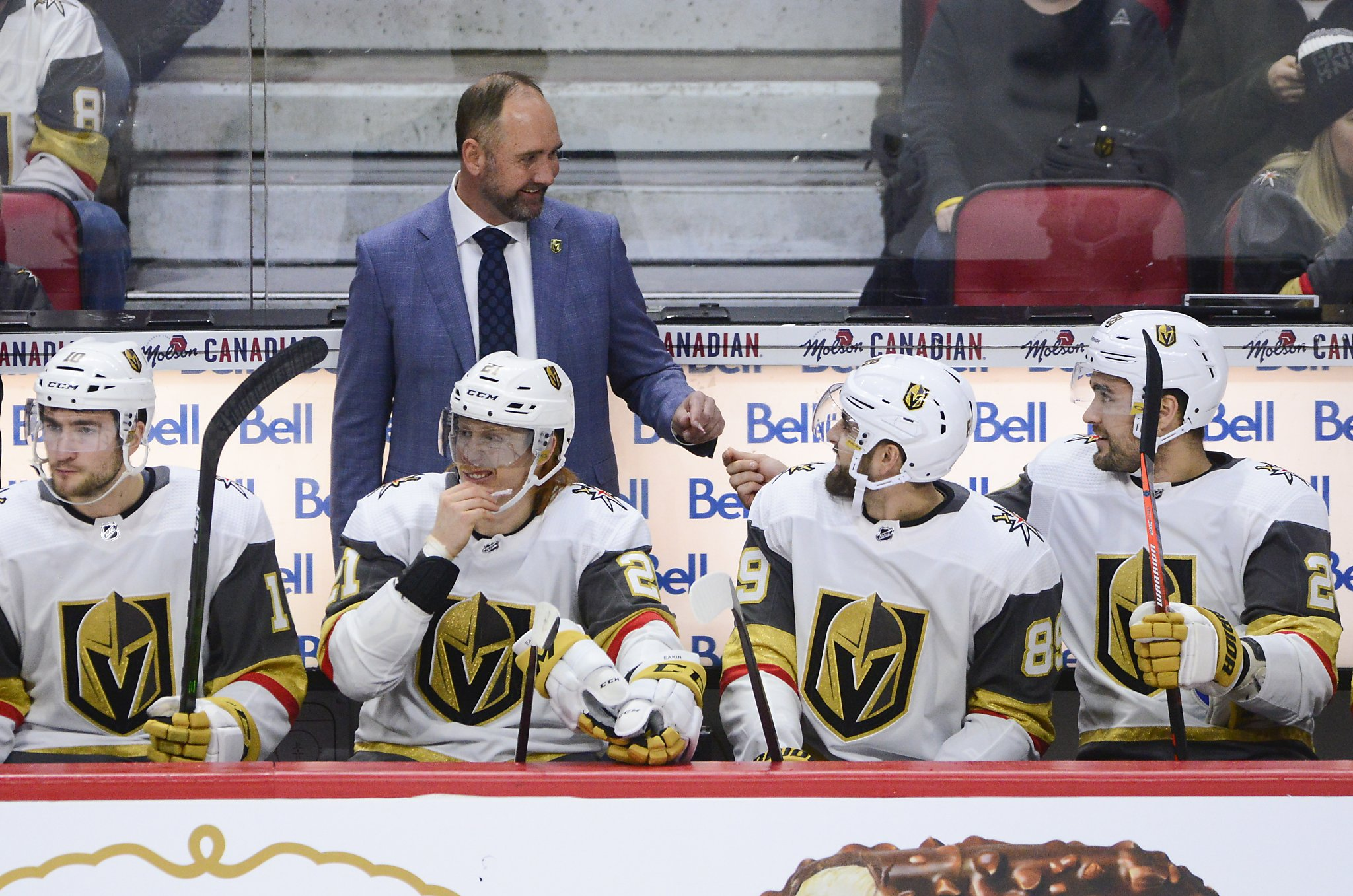 Golden Knights Give Coach Peter Deboer A Victory In His Debut With Team Sfgate