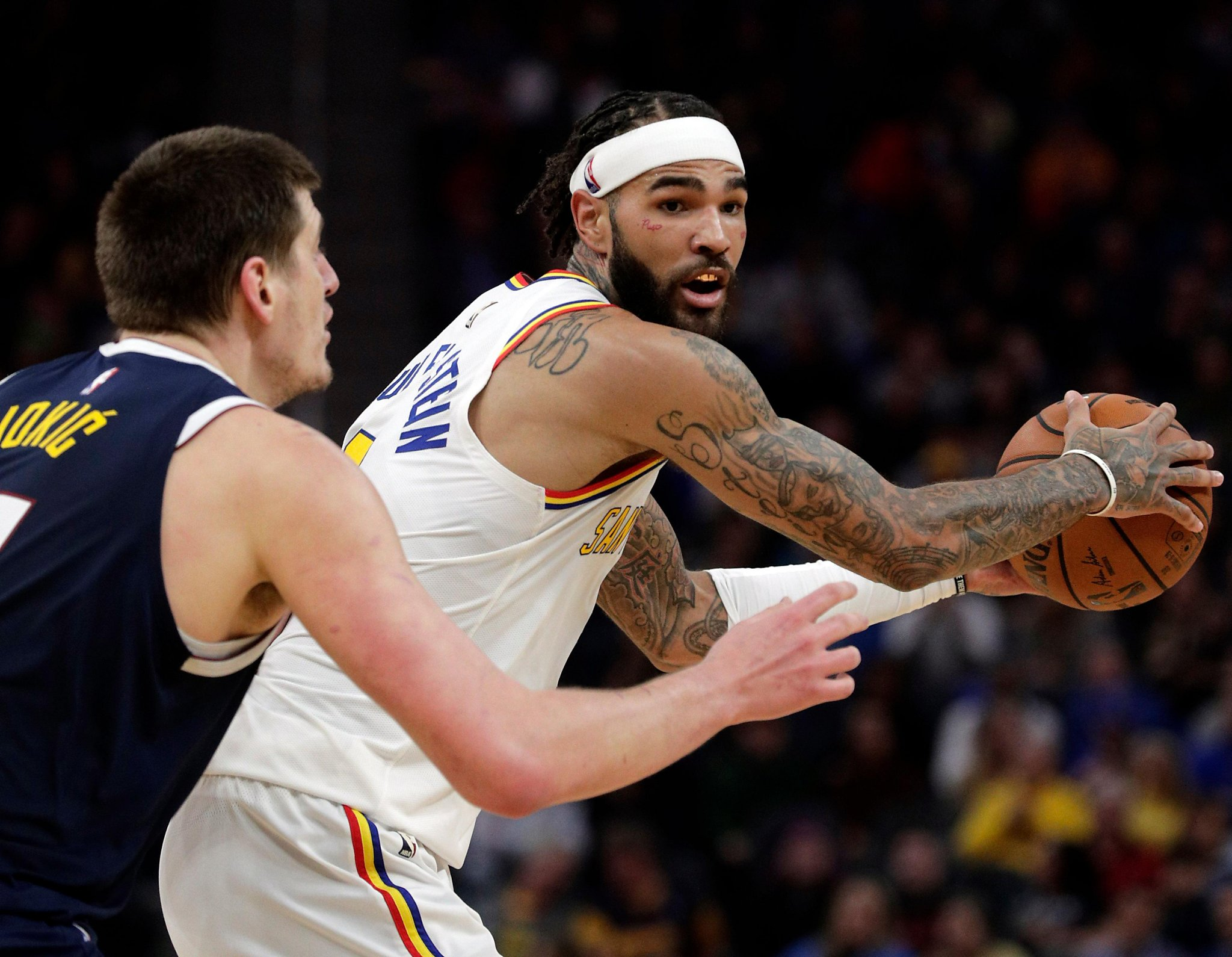 Warriors trading Willie Cauley-Stein to Dallas for 2nd-round pick
