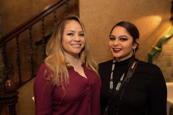 San Antonians boozed it up at the Opening Night at the Majestic Theatre of the 2020 San Antonio Cocktail Conference on Thursday, Jan. 16, 2020.