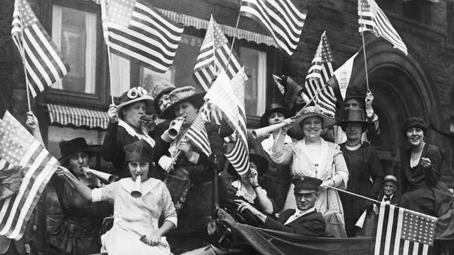This year marks the 100th anniversary of women's right to vote. Photo: Courtesy History.com