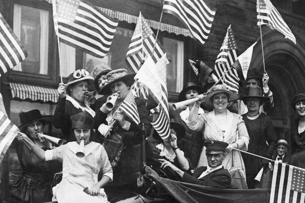 This year marks the 100th anniversary of women's right to vote.