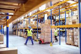 Depending on size, every warehouse usually has a host of different positions from shipping and receiving, document controls, receptionist, stockers, general assistants, warehouse assistants, and others.