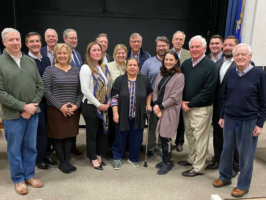 Darien Republicans held caucus, named new committee members. Photo: Contributed