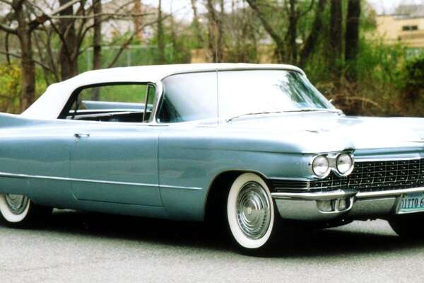 Every aspect of the Cadillac is enormous. The car rides on a 130-inch wheelbase, and with the graceful fins, David Urgo equates the attention he gets while driving to being a rock star.