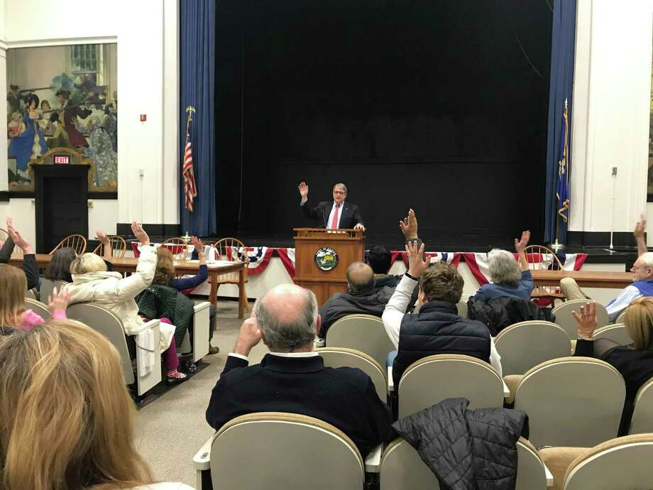 Darien Democrats held a caucus this week Photo: Contributed
