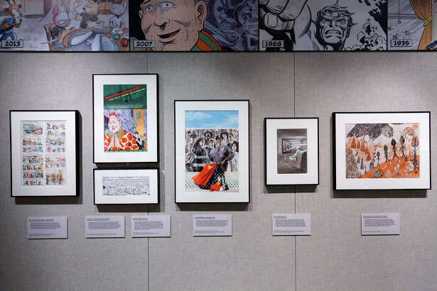 """The """"Comic Art: 120 Years of Panels and Pages"""" show provides information on each piece, distilling a comprehensive introduction to American illustrated storytelling into captions."""