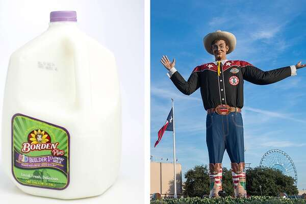 MATCHUP: Borden Vs. Texas State Fair WINNER: Texas State Fair After having recently declared bankruptcy, bad news continued for Borden. It was stomped by Big Tex and company move on to the Elite 8