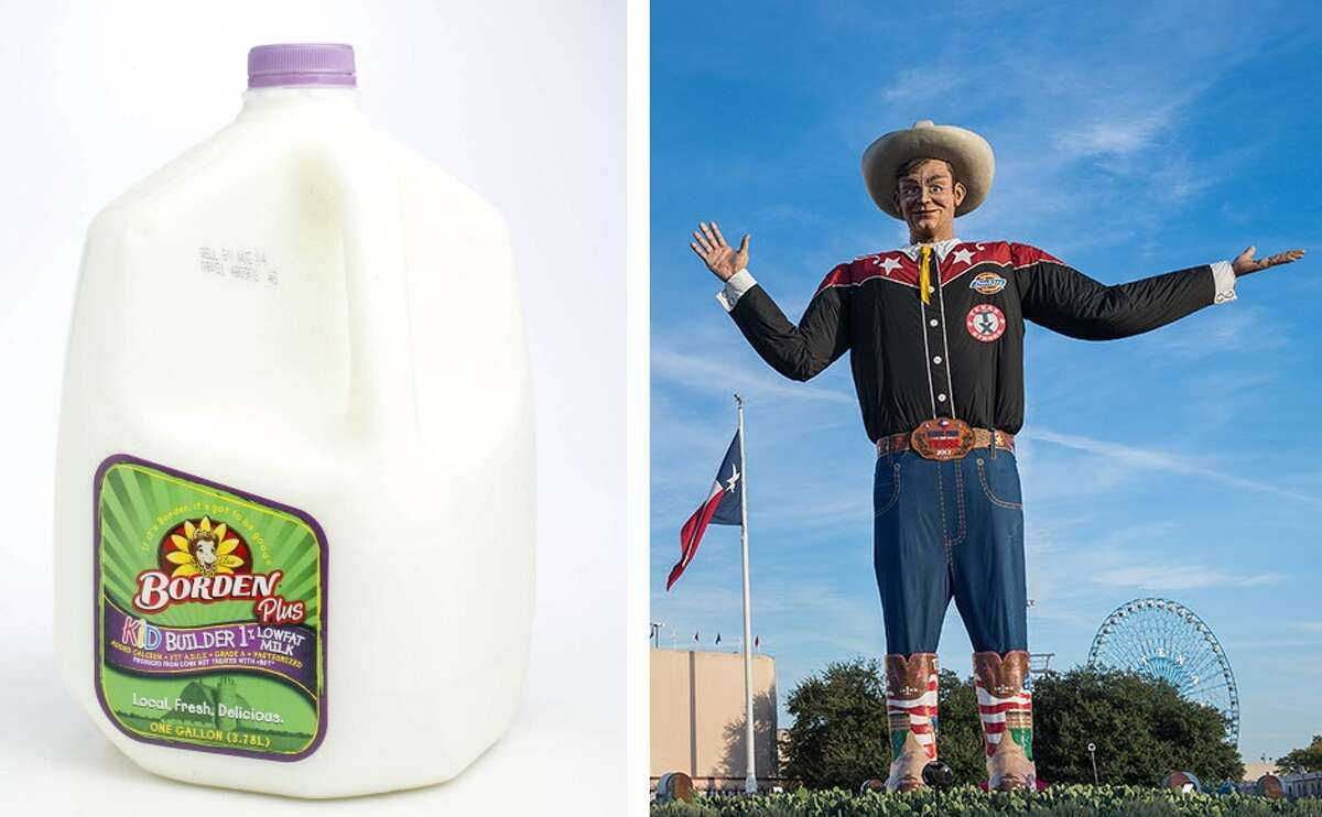 MATCHUP: Borden Vs. State Fair of Texas WINNER: State Fair of Texas After having recently declared bankruptcy, bad news continued for Borden. It was stomped by Big Tex and company, who move on to the Elite 8 >>Click through to see results of @TXSportsLife battle for Most Iconic Brand in Texas