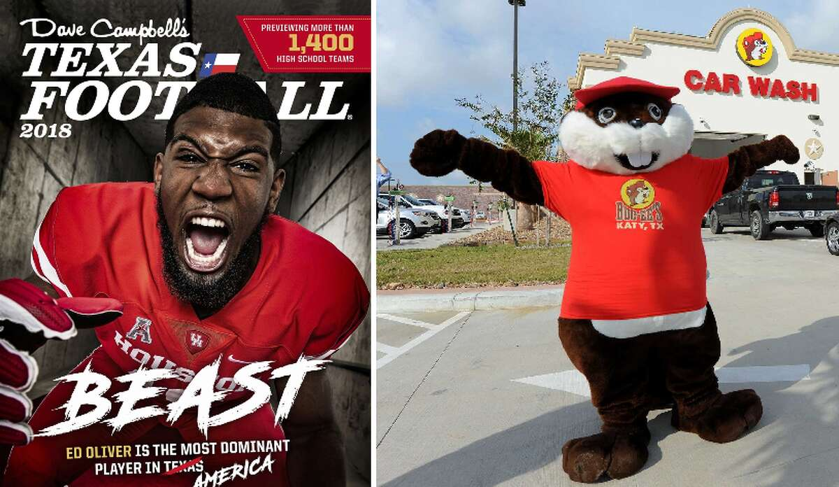 MATCHUP: Dave Campbell's Texas Football Vs. Buc-ee's WINNER:Buc-ee's As big a name as the beaver is in Texas, it was surprising to see Buc-ee's seeded #41. Meanwhile The bible of Texas Football, DCTF was ranked #25. Still, the beaver is beloved by one and all.