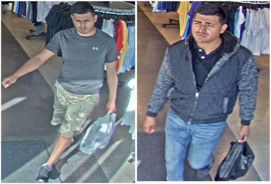 Laredo police said they are looking for this man in connection with recent thefts at The Outlet Shoppes of Laredo. To provide information, call police at 795-2800 or Laredo Crime Stoppers at 727-TIPS (8477). Callers will remain anonymous. Photo: Courtesy Of The Laredo Police Department