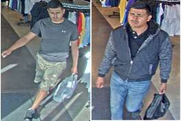 Laredo police said they are looking for this man in connection with recent thefts at The Outlet Shoppes of Laredo. To provide information, call police at 795-2800 or Laredo Crime Stoppers at 727-TIPS (8477). Callers will remain anonymous.