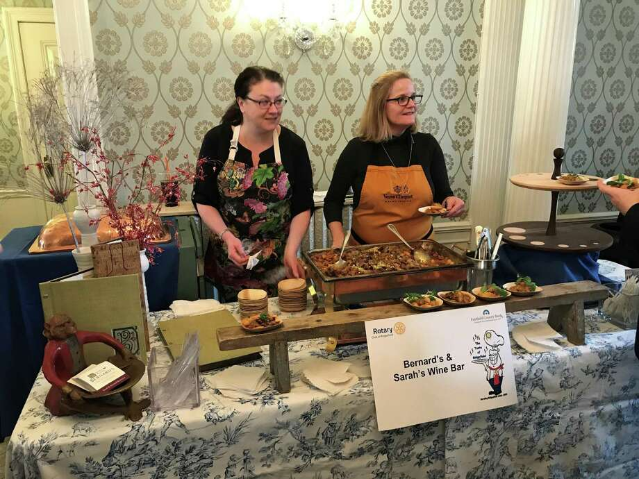The Rotary of Ridgefield is hosting its 21st annual Taste of Ridgefield at the Lounsbury House Community Center Jan. 26. Photo: Rotary Of Ridgefield / Contributed Photo