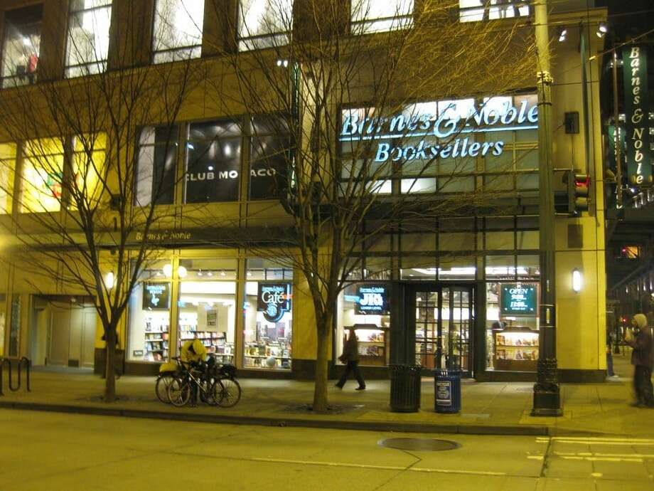 Seattle's downtown Barnes & Noble announced it is shutting its doors for good Saturday after 22 years. Photo: Becca C./Yelp