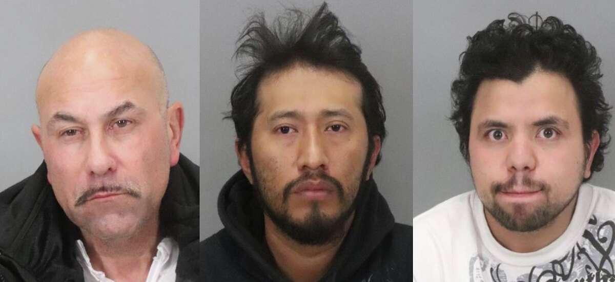 From left to right: Albert Thomas Vasquez, Antonio Quirino Salvador, and Hediberto Gonzalez Avarenga.