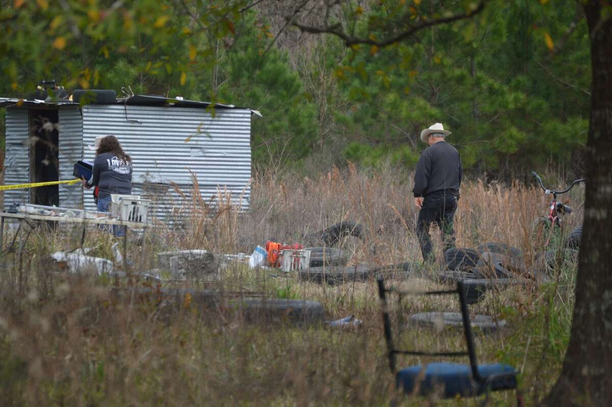 Newton County responds to a stabbing in Deweyville January 17, 2020. Photo provided by Eric Williams