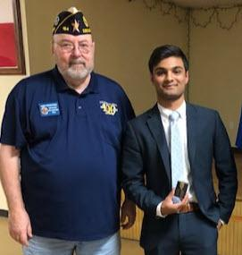 SUNDAY CONVERSATION: Tompkins senior speaks out, advances in American Legion competition