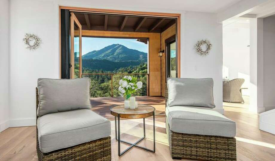 Four-bedroom with Mt. Tamalpais views open Sunday in Larkspur
