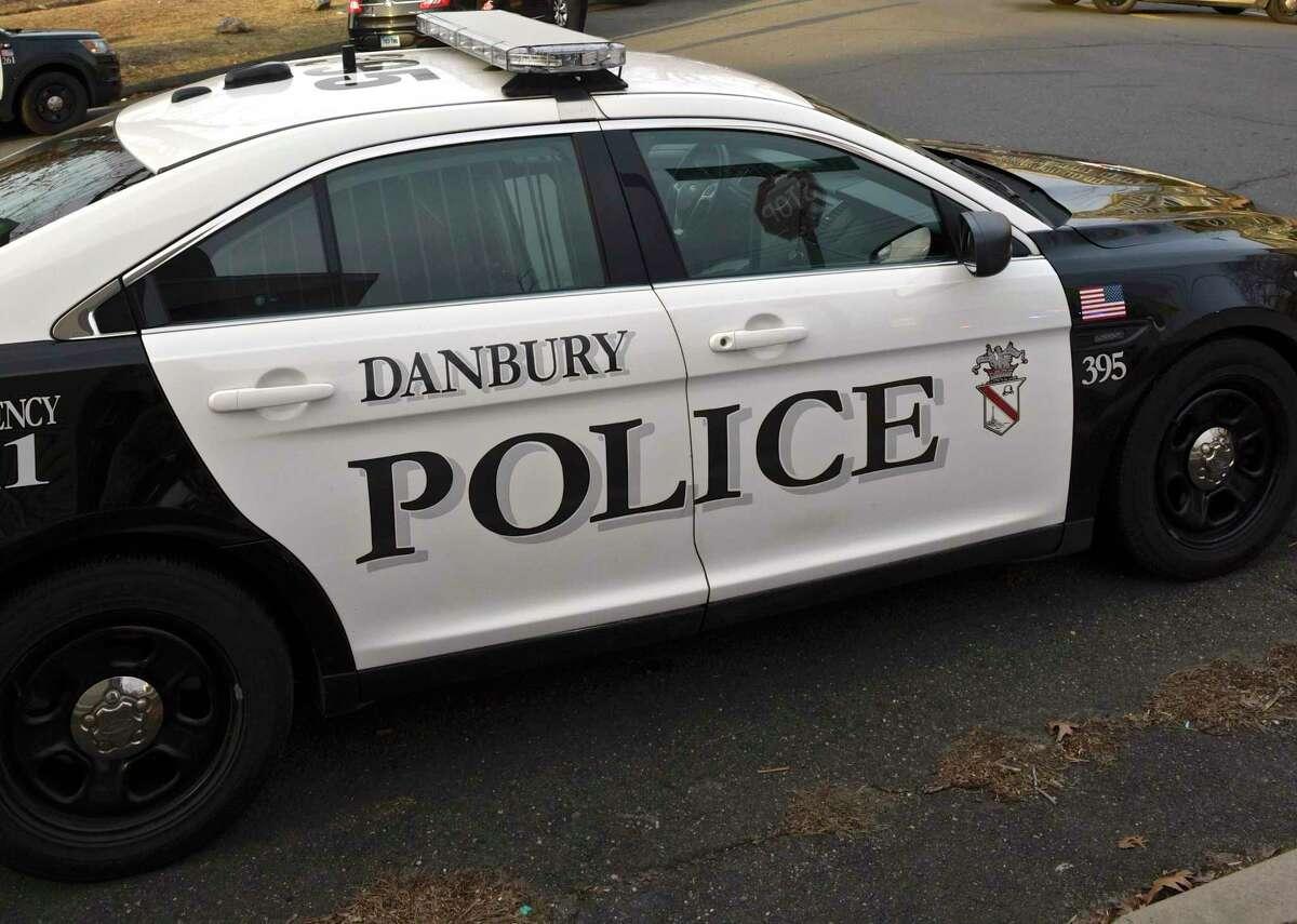 Danbury Police car. Thursday afternoon. January 17, 2019, in Danbury, Conn.