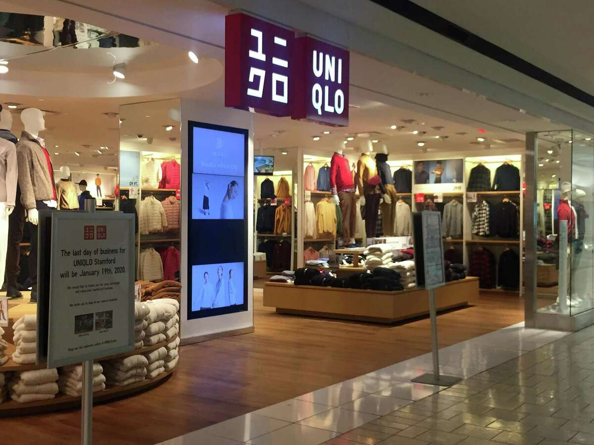 Uniqlo is closing its fifth-level store at Stamford Town Center on Jan. 19, 2020, after operating at the mall for nearly six years.