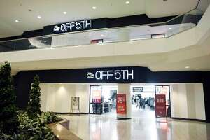 The Saks Off 5th department store at the Stamford Town Center mall in Stamford, Conn., is scheduled to re-open on Friday, May 22, 2020.