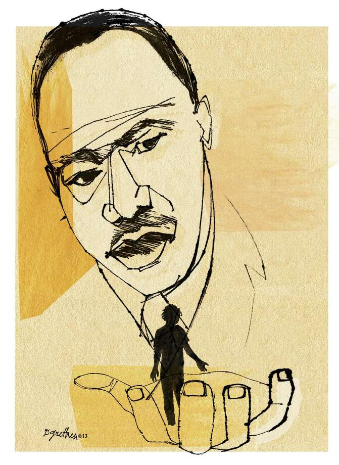 Donna Grethen illustration of Dr. Martin Luther King Jr. Photo: Donna Grethen / Tribune