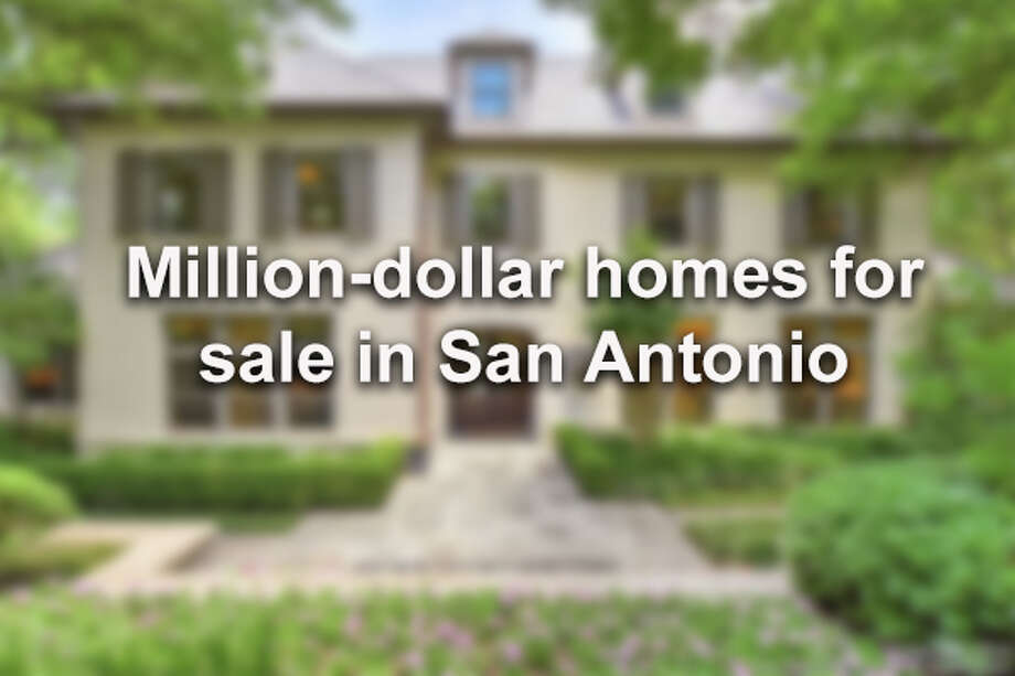 Click through to see luxurious million-dollar homes and condos for sale right now in San Antonio. Photo: File Photo