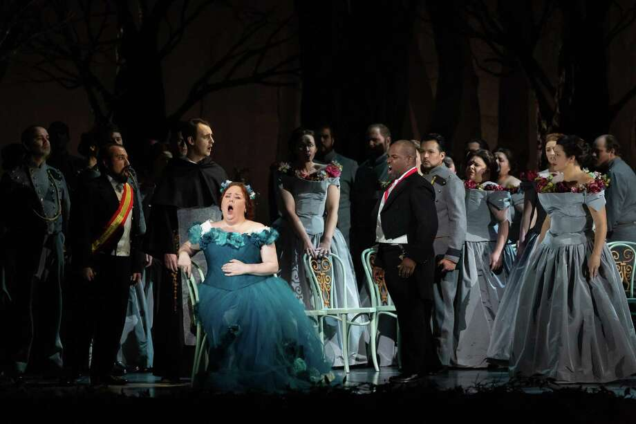 Jamie Barton and Lawrence Brownlee in Houston Grand Opera's 'La Favorite' Photo: Lynn Lane
