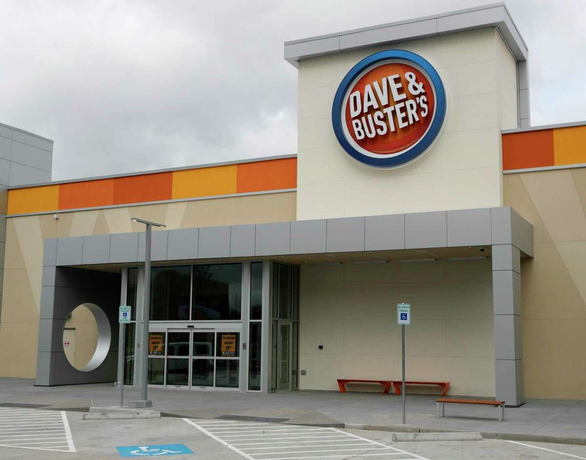 during a tour of Dave and Busters, Thursday, Jan. 16, 2019, in Shenandoah. The 40,000 square foot entertainment complex, is scheduled to open Jan. 20, features the latest arcade games, billiards, bowling, virtual reality entertainment and sports bar.