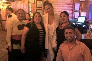 Chrissy Teigen grabbed a meal at El Tiempo at 2814 Navigation Blvd. on Thursday, Jan. 16, 2020.
