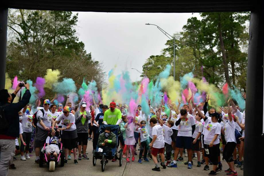 The Lake Houston YMCA Bridge Fest will be held on Feb. 17 and will be themed as a color run. Photo: Courtesy / Courtesy