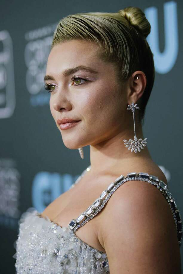 SANTA MONICA, CALIFORNIA - JANUARY 12: Florence Pugh attends the 25th annual Critics' Choice Awards at Barker Hangar on January 12, 2020 in Santa Monica, California. (Photo by Emma McIntyre/Getty Images) Photo: Emma McIntyre, Staff / Getty Images / 2020 Getty Images
