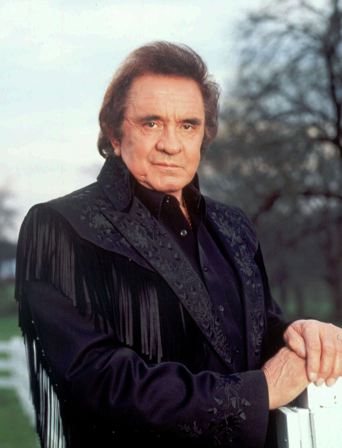FILE. Writer recalls country singer Johnny Cash's song