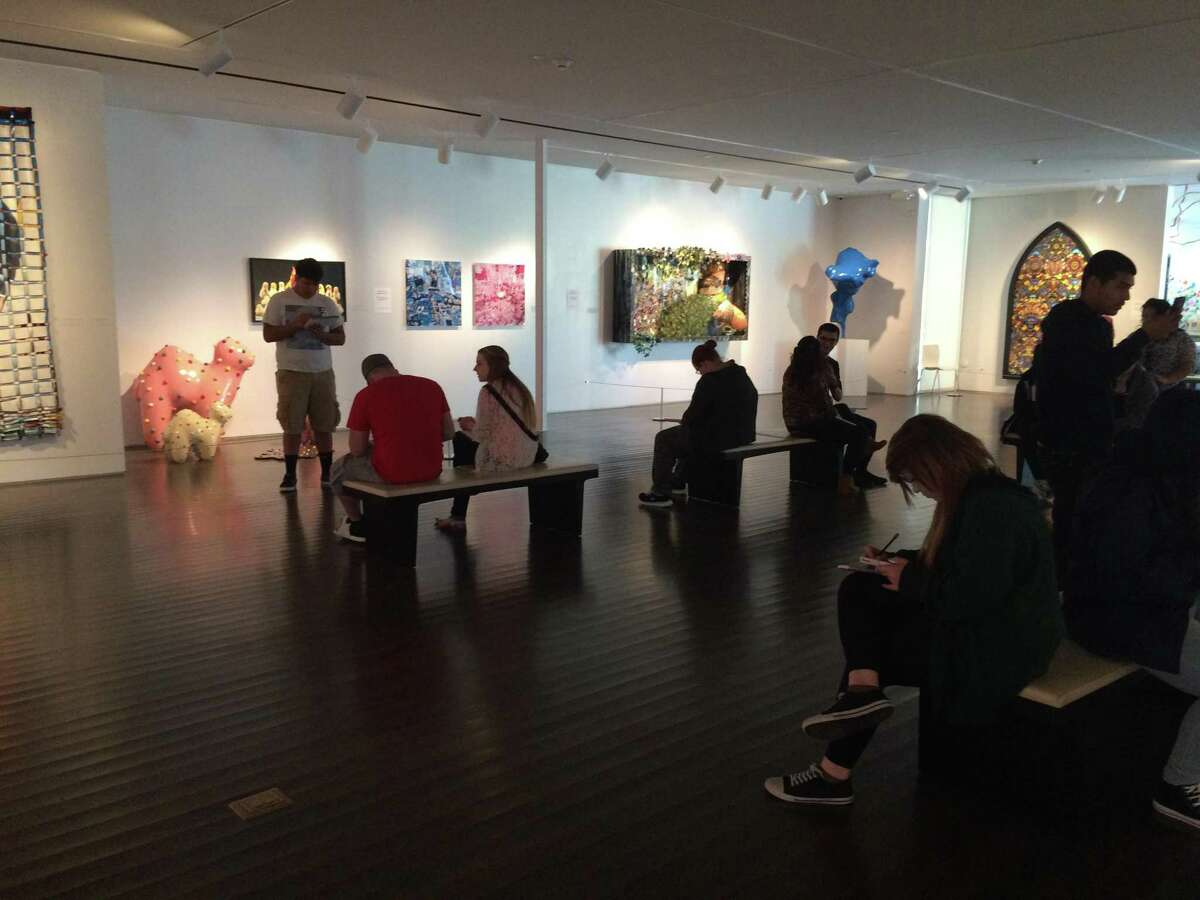 Chaney Collection Exhibition Tour at the Pearl Fincher Museum of Fine Arts.