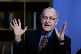 "Alan Dershowitz attends Hulu Presents ""Triumph's Election Special"" at NEP Studios in New York on Feb. 3, 2016. Dershowitz, onetime Jeffrey Epstein lawyer, was named to Trump's impeachment legal team."