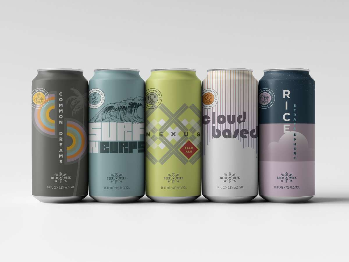 The Bay Area Brewers Guild is releasing five new one-off beers for this year's San Francisco Beer Week.