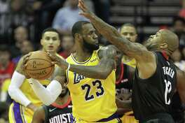 LeBron James has added some taller teammates since P.J. Tucker and the Rockets handled them last season at Toyota Center.