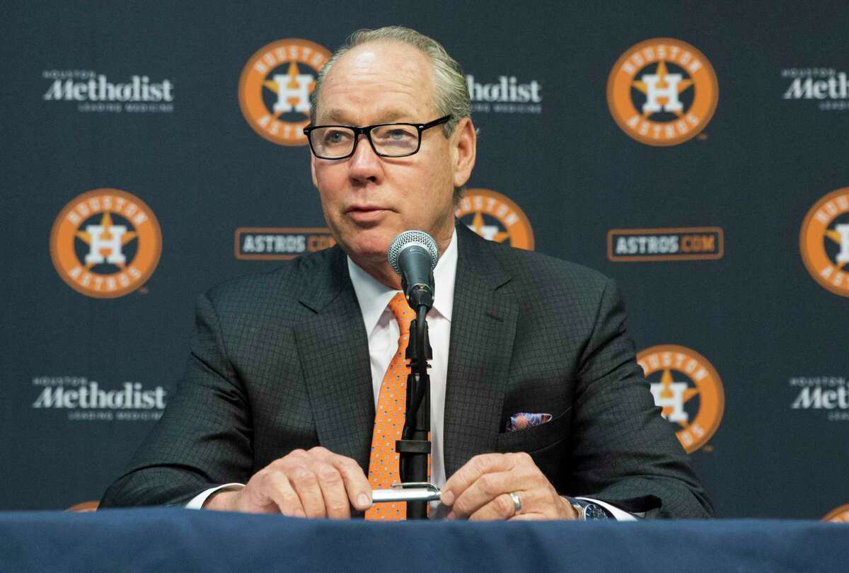 """Houston Astros owner Jim Crane on Friday quipped that managing the actual game for his next clubhouse leader may be no more simple than """"just filling in the (lineup) card."""""""