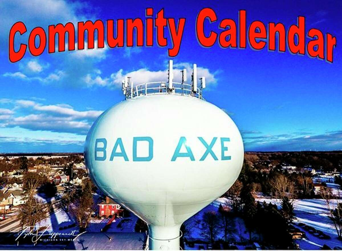 This is the icon being used to define the Bad Axe Community Calendar. (Submitted Photo)