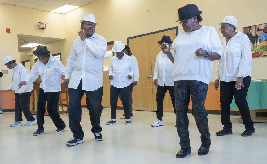 Line dancers perform Jan. 18 at the Southeast Senior Center during an event honoring Dr. Martin Luther King Jr. The city of Midland will operate the Southeast and Midland senior centers effective Nov.1. Photo: Tim Fischer/Midland Reporter-Telegram
