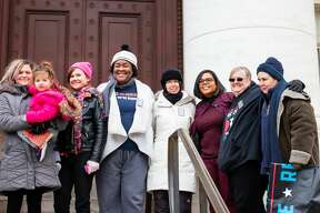 The New Haven Women's March was held on January 18, 2020 at New Haven Superior Court. Speakers focused on reproductive justice, LGBTQI+ rights and racial justice. Were you SEEN?