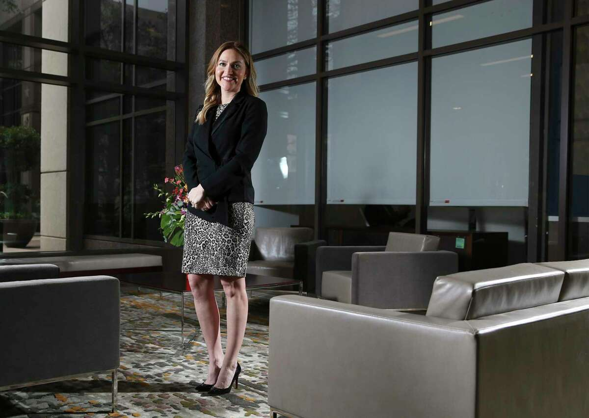 Jenna Saucedo-Herrera, the 32-year-old president and CEO of the San Antonio Economic Development Foundation, touts the gains that San Antonio has made while talking about the challenges it still faces.